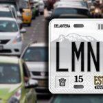 ¿Qué es una placa vehicular?